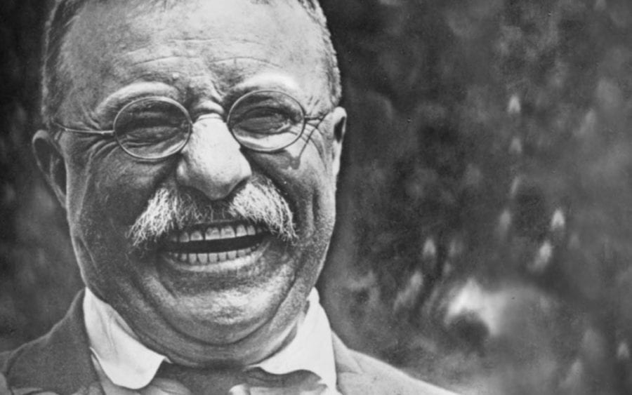 Theodore Roosevelt is happy about his Quotes
