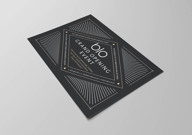 Blo Salon work Fearless Creative on Website Design Graphic Design in Musselburgh