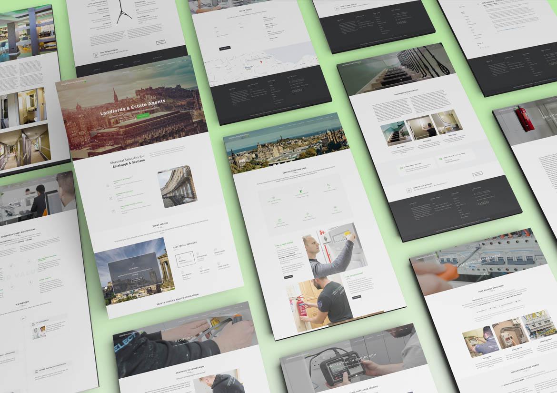 Fearles Creative Logo Design, Branding, Website Design in Edinburgh Newcastle