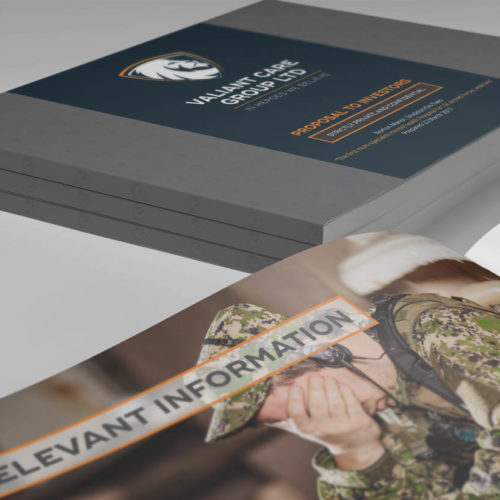Fearless Creative Branding Digital and Graphic Design Agency Edinburgh Printed Presentation Books