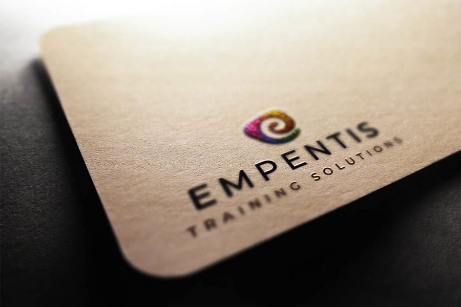 Empentis Levy Solutions Training Provider Newcastle Edinburgh Logo Design Print and Branding by Fearless Creative