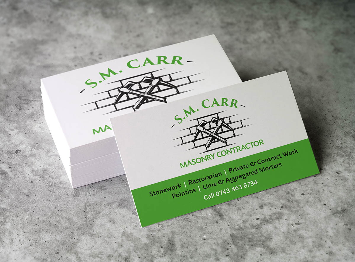 SM Carr Masonry Contractor Fearless Creative Branding Digital and Graphic Design Agency Edinburgh
