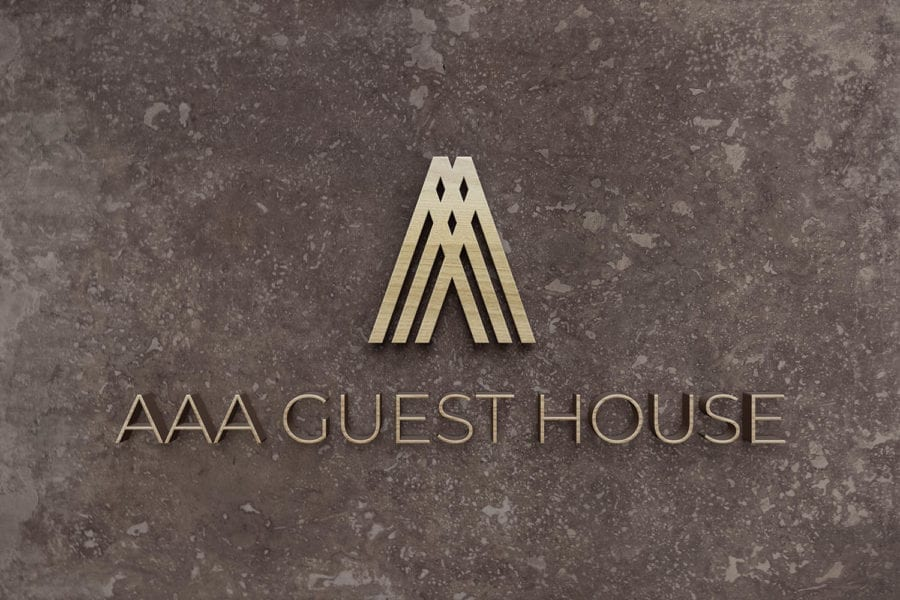 AAA Guest House Logo Design & Signage in Edinburgh