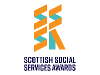 Fearless Creative Website design Branding edinurgh-scottish social services awards logo