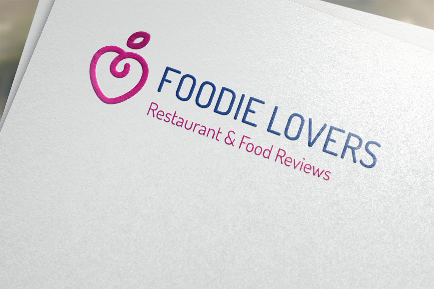 Foodie Lovers Restaurant & Food Reviews Website Design Edinburgh Logo Design The Fearless Creative