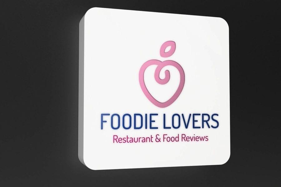 Foodie Lovers Restaurant & Food Reviews Website Design Edinburgh Logo Design The Fearless Creative