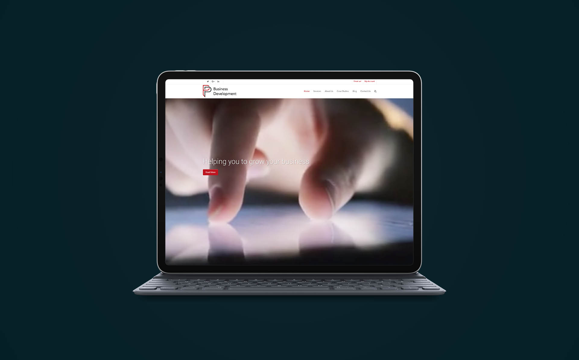 P&P Business Development Case Study Fearless Creative Professional Website Design