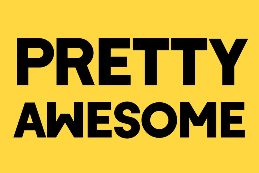 Word of the Month from Fearless Creative website design in Edinburgh we are pretty awesome. Delivering awesome web site design and awesome logos